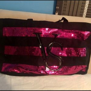 Large Sequined Tote